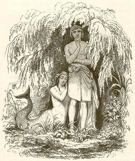 Vilhelm Pedersen Illustration der kleinen meerjungfrau
