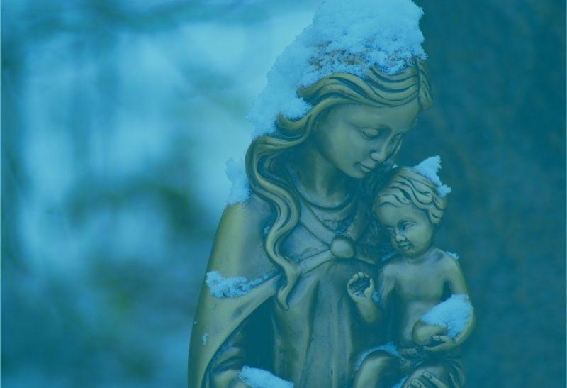 Maria und ihr Kind